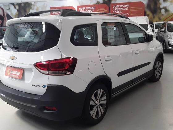 SPIN 2018/2019 1.8 ACTIV7 8V FLEX 4P AUTOMÁTICO - Foto 7