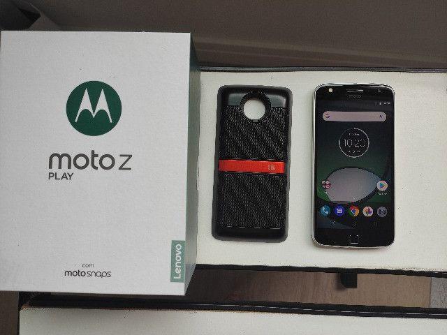Celular Moto Z Play 32 gb com Moto Snap JBL - Foto 4