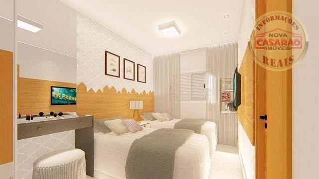 Apartamento com 2 dormitórios à venda, R$ 458.350,00 - Canto do Forte - Praia Grande - Foto 8