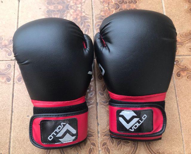 Luva de Boxe Muay Thai Everlast Vollo 12OZ - Foto 4