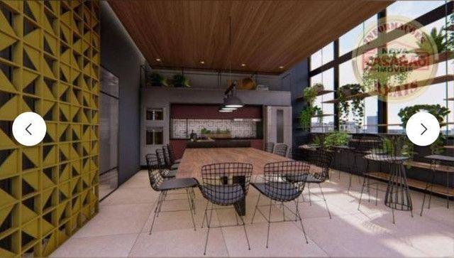 Apartamento com 2 dormitórios à venda, 83 m² R$ 442.000,00 -Canto do Forte, Praia Grande - Foto 3