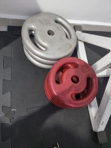 Anilhas/peso de academia