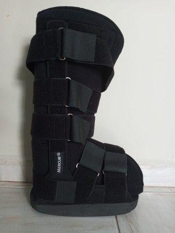 bota ortopedica modelo robofit ela e cano alto tamanho medio
