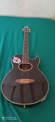Vendo violão Eagle gl36 elétrico - Foto 2