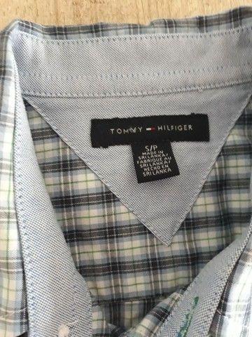 Camisa xadrez Tommy infantil - Foto 2