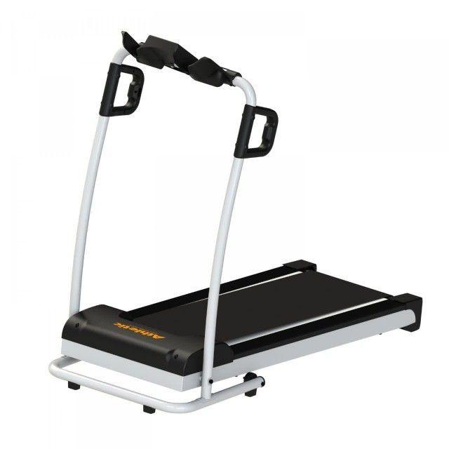 Esteira Athletic walker 10km/h - entrega e montagem grátis - 120kg   - Foto 2