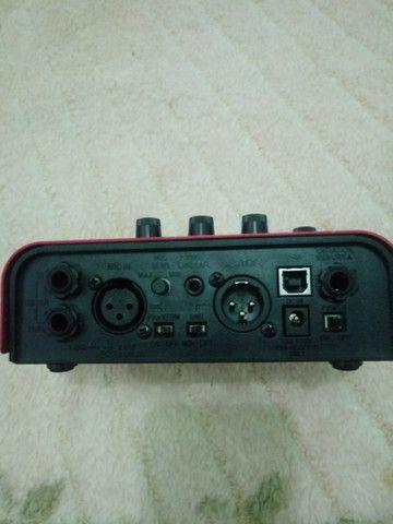 Pedal de voz ve-2 harmonist com fonte - Foto 2