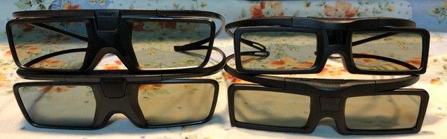 4 óculos 3D Ativo para TVs Philips