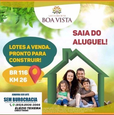 Loteamento Boa Vista, com excelente localização e próx de Fortaleza! - Foto 19