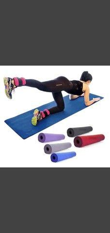 Novo-Tapete EVA / Colchonete Yoga Pilates Fitness Exercícios - Tenho Duas Cores