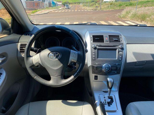 Corolla 2014 Xei 2.0 Automático Completo + Multimídia - Foto 5
