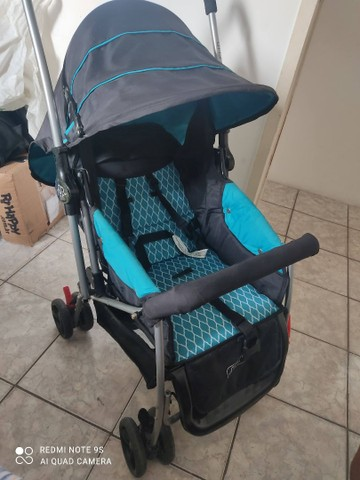 Carrinho de Bebê Berço Flip Azul Bb503 Multikids Baby - Foto 3