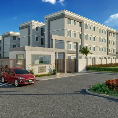 Apartamento na zona leste com entrada facilitada em até 60 meses