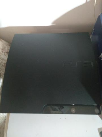 PS3 Slim Desbloqueado 1 controle varios Jogos cartão até 12x R$76,00 Goiania Anapolis