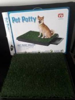 Sanitário com Graminha Artificial para Cães