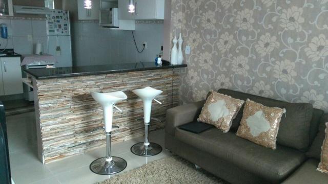 Apartamento 02 quartos proximo ao centro, condominio por do sol - mobiliado 981140299