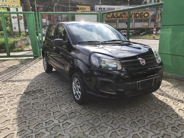 Nova Fiat Uno Drive 1.0 Completa Preta 2018 - Foto 2
