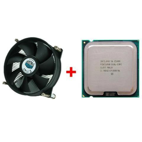 Pentium Dual Core E5400 2 7ghz 2mb Lga775 + Cooler Master