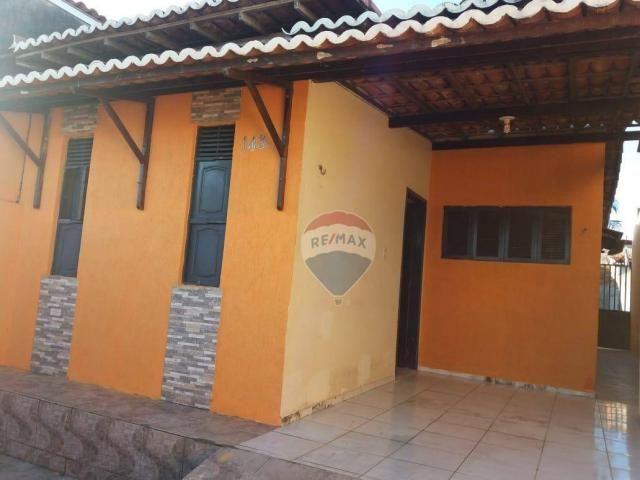 Casa com 2 dormitórios para alugar, 80 m² por r$ 500/mês - boa esperança - parnamirim/rn - Foto 2