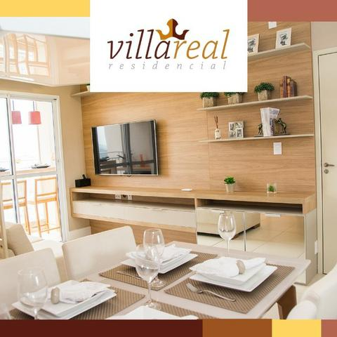 VillaReall Residencial Aptos 2 Dorms 58m2 2 Dorms 1 Vaga C/Varanda Lazer Completo - Foto 9