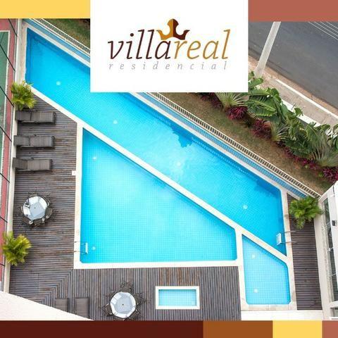 VillaReall Residencial Aptos 2 Dorms 58m2 2 Dorms 1 Vaga C/Varanda Lazer Completo - Foto 3
