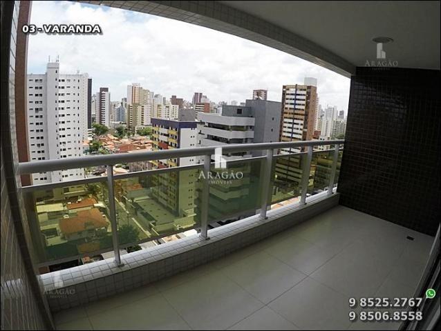 Apartamento à venda, 124 m² por r$ 1.150.000,00 - meireles - fortaleza/ce - Foto 5