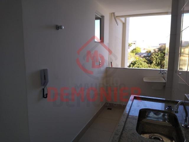 Alugo apartamento novo 2 quartos com suíte, 1 vaga, Campo Grande, com lazer - Foto 11