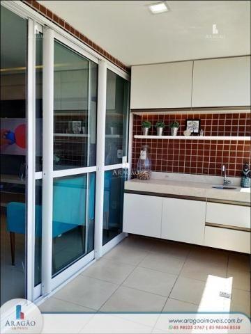 Apartamento à venda, 106 m² por r$ 850.000,00 - aldeota - fortaleza/ce - Foto 4