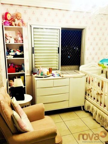 Apartamento à venda com 3 dormitórios em Parque amazônia, Goiânia cod:NOV235844 - Foto 14