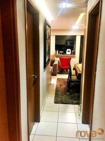 Apartamento à venda com 3 dormitórios em Parque amazônia, Goiânia cod:NOV235844 - Foto 12