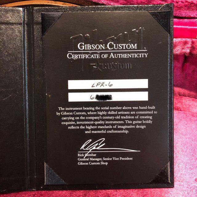 Gibson Les Paul Custom VOS 56 - Foto 4
