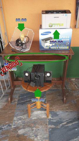 Vendo Impressora, Estabilizador, Caixa de Som, Antena Internet via Rádio