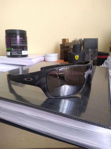 Óculos Oakley turbine rotor Black Camo Prizm - Foto 5
