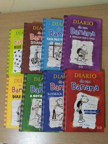 """Box """"Diário de um Banana"""" -Capa dura - Foto 2"""