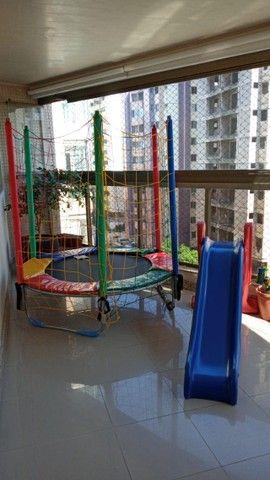 O pula pula Ideal para apartamentos e locais pequenos; Cama elástica 1,50m Premium - Foto 5