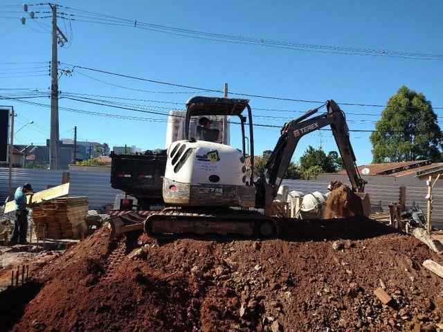 Demolição Retroescavadeira, Mini Escavadeira  - Foto 4