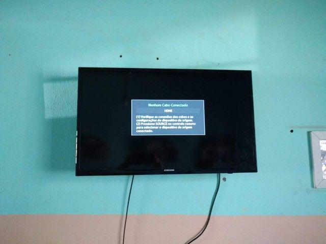 Tv Samsung 32 polegada não Smart - Foto 4