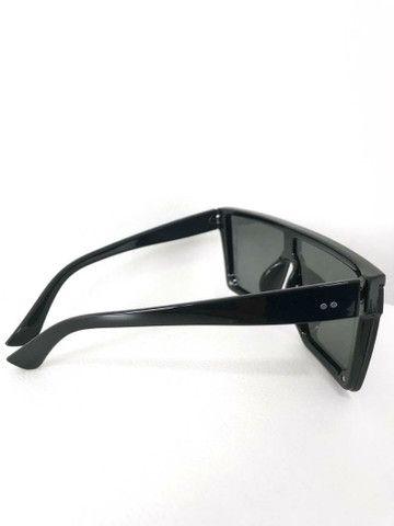 Óculos de Sol Máscara Quadrado Proteção Uv400  - Foto 2