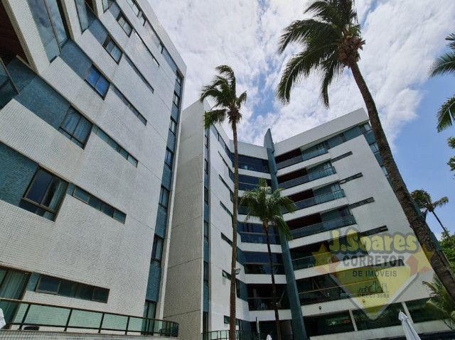 Ponta de Campina, Mobiliado, 4 suítes, 206m², R$ 5000 C/Cond, Aluguel,Apartamento,Cabedelo - Foto 20