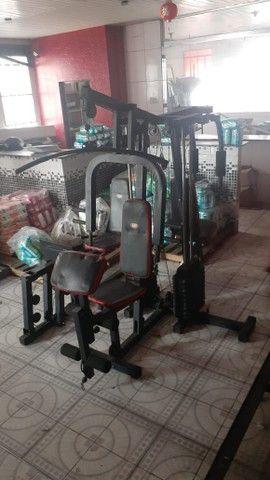 Estação de musculação / multiestação de musculação venha conferir! - Foto 5