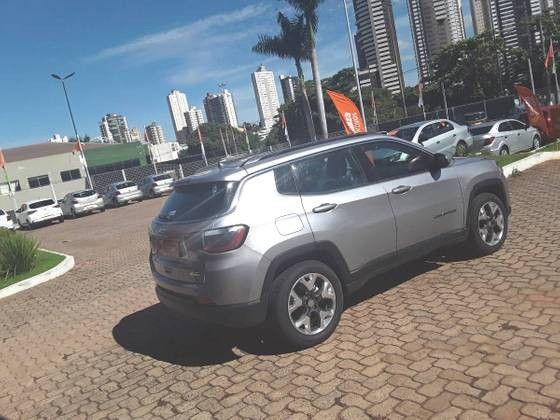 COMPASS 2019/2019 2.0 16V FLEX LONGITUDE AUTOMÁTICO - Foto 8