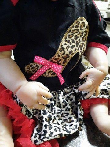 Bebê Reborn Menina de Silicone - Bebê Reborn Realista<br> - Foto 3