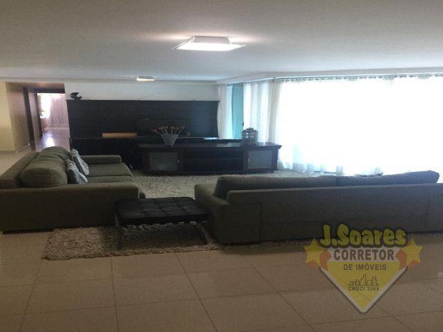 Ponta de Campina, Mobiliado, 4 suítes, 206m², R$ 5000 C/Cond, Aluguel,Apartamento,Cabedelo - Foto 4