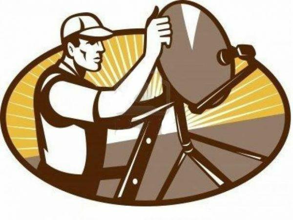 Técnico manutenção de receptores e antenas via satélite