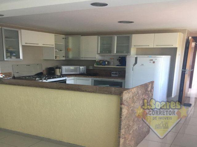 Ponta de Campina, Mobiliado, 4 suítes, 206m², R$ 5000 C/Cond, Aluguel,Apartamento,Cabedelo - Foto 8