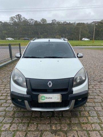 Renault Sandero Stepway 1.6 16v automático 2013/2013 branco - Foto 5
