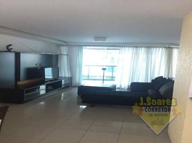 Ponta de Campina, Mobiliado, 4 suítes, 206m², R$ 5000 C/Cond, Aluguel,Apartamento,Cabedelo - Foto 5