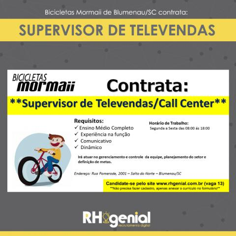 Supervisor de Call Center
