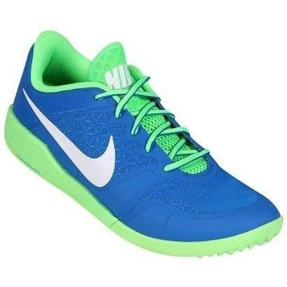 fad286a72816c Tênis Nike Lunarlon Ultimate Tr verde e azul