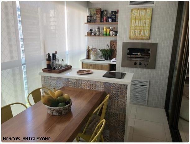 Apartamento com 3/4 (2 suítes) + dependência. armários e painéis primeira linha! VG1620 - Foto 19